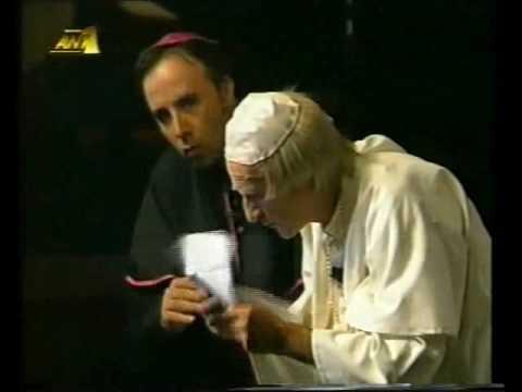 Μουστάκας - Πάπας της Ρώμης
