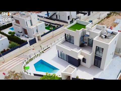 340000€+/Недвижимость в Испании/Купить недорогой дом в Бенидорме/Дома в Полопе/Хай Тек