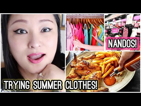 (Shopping Day with Puccasyanu | Trying Summer Clothes | Nandos for Lunch | Taste Test! - Vlog #120 - Duration: 11 minutes.)