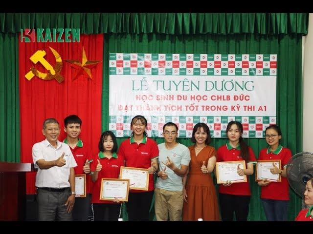 Lễ tuyên dương Du học sinh Đức đạt thành tích cao trong kỳ thi A1