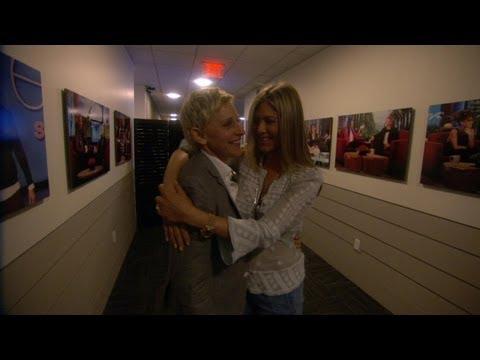 Jen Aniston's Ellen Scare Fail