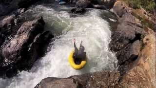 Sabie South Africa  city photos : Tubing on the Sabie River in South Afrika