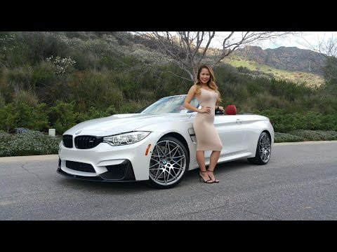 "New Bmw M4 Convertible / Exhaust Sound / 20"" M Wheels / Bmw Review"