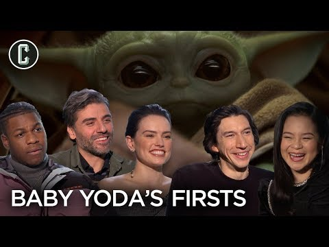 """Rise of Skywalker Cast on Baby Yoda """"Firsts"""" They'd Like to See"""
