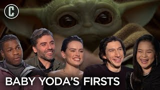 Rise of Skywalker Cast on Baby Yoda Firsts They'd Like to See by Collider