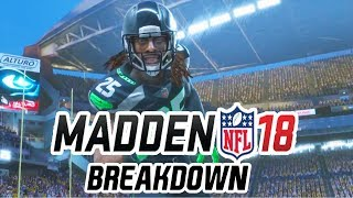 Madden 18 Gameplay Trailer Breakdown! Talking the new Madden 18 Trailer! Discussing some Madden 18 Gameplay! Still wating on Madden 18 Ultimate Team News!INSTAGRAM - https://www.instagram.com/cullenburgerytTWITTER -  http://www.twitter.com/cullenburgarBusiness Contact: CULLENBURGERYT@Gmail.comTWITCH - http://www.twitch.tv/cullenburgerMadden 18,Madden 18 Gameplay,Madden 18 Trailer,Madden 18 Breakdown,Madden 18 New,Madden 18 Today,Madden 18 Longshot,Madden 18,Madden NFL 18,Madden 18 4K,Madden 18 Career Mode