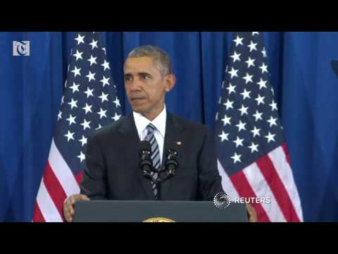 Obama highlights foreign policy achievements in security speech