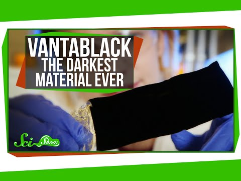 Scientists have created a material that absorbs 99.99% of light called Ventablack 2, it's so dark that it makes objects permanently look 2 dimensional.