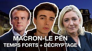Video MACRON - LE PEN : les temps forts du débat décryptés ! MP3, 3GP, MP4, WEBM, AVI, FLV Juni 2017