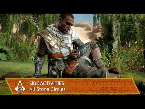 Assassin's Creed Origins - Side Activities - All Stone Circles [Bayek's Promise]