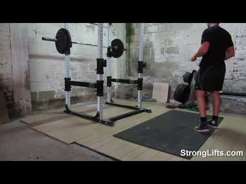 Video of StrongLifts 5x5 Workout