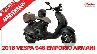 7. SPECIAL EDITION!! 2018 Vespa 946 Emporio Armani Price Specification Review