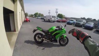 1. 2015 Kawasaki Ninja 650R test drive review