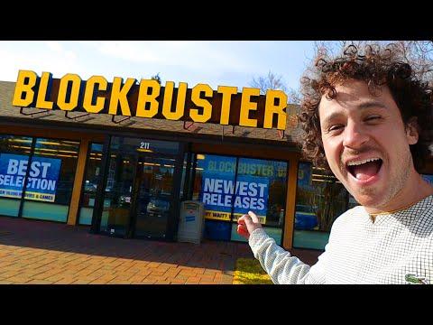Así es el ÚLTIMO Blockbuster que queda en el mundo 😱🎬