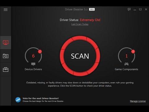 تحميل وتفعيل برنامج تحميل جميع الدرفرات والتعريف Driver Booster Pro V 6 مدى الحياة الموقع الرسمي