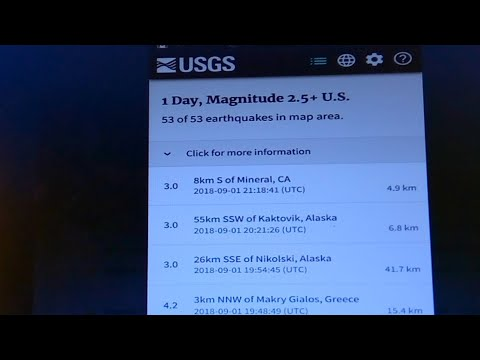 Why is USGS Hiding What Is Going On In California