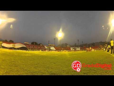 La afición del Caracas FC recibió a su equipo con un enorme telón [Libertadores] | GradaDigital.c - Los Demonios Rojos - Caracas