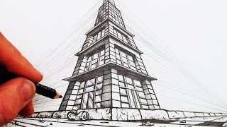 Video How to Draw in 3-Point Perspective: Narrated MP3, 3GP, MP4, WEBM, AVI, FLV Agustus 2018