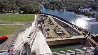 Hume Dam upgrade works time-lapse 2014 (HD)