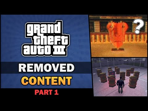 GTA III - Removed Content [Beta Analysis] [Part 1] - Feat. Badger Goodger