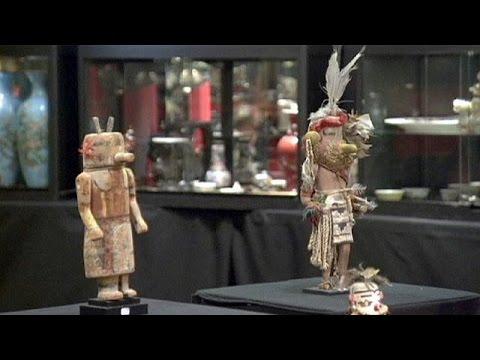Γαλλία: Στο σφυρί οι ιερές μάσκες των Ινδιάνων Χόπι