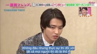 "Nonton [17.2.2017] [Vietsub] LiLiCo's Interview ""Isshuukan Friend"" với Yamazaki Kento và Kawaguchi Haruna Film Subtitle Indonesia Streaming Movie Download"