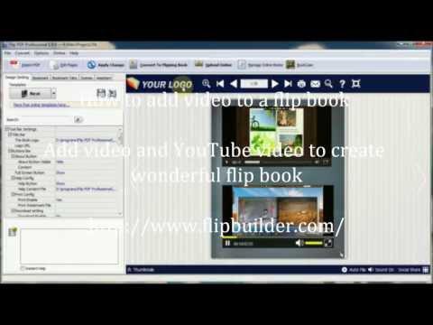 Flipbook Tutorial: How to add video to a flip book - FlipBuilder