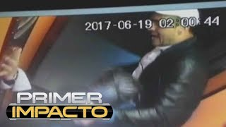 Las cámaras de seguridad grabaron la golpiza en el elevador y también lo que sucedió después. A la salida del edificio en...