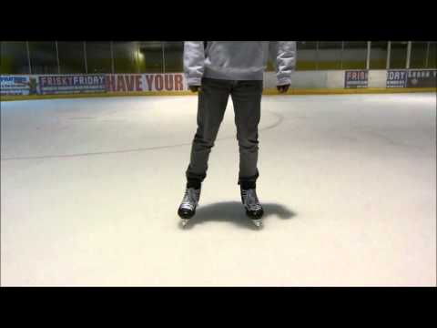How To Hockey Turn – Learn Tight Turns On The Ice Power Turn