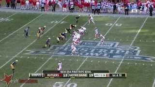 Tyler Kroft vs Notre Dame (2013)