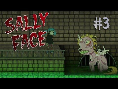 ЗАСОСАЛО В УНИТАЗ ⋋( ՞ ∧ ՞ )⋌ {Прохождение Sally Face} #3