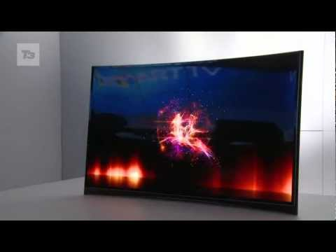 First look at the amazing Ultra HD TV from Samsung and the world's first curved OLED TV