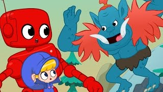 Video Morphle meets the Scary Mountain Giant + Dinosaurs, Monsters and Dragons MP3, 3GP, MP4, WEBM, AVI, FLV Mei 2017