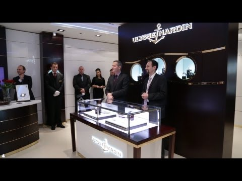 Luxury Swiss Watch Manufacturer Ulysse Nardin Opens a Boutique in Karlovy Vary, Czech Republic