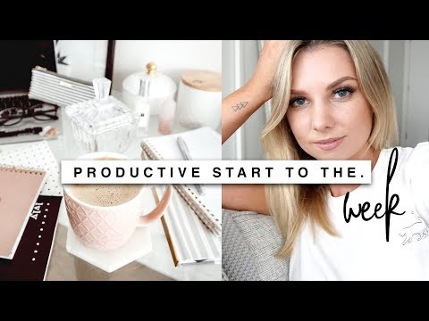 Productive Monday | Lifestyle Change & Healthy Living