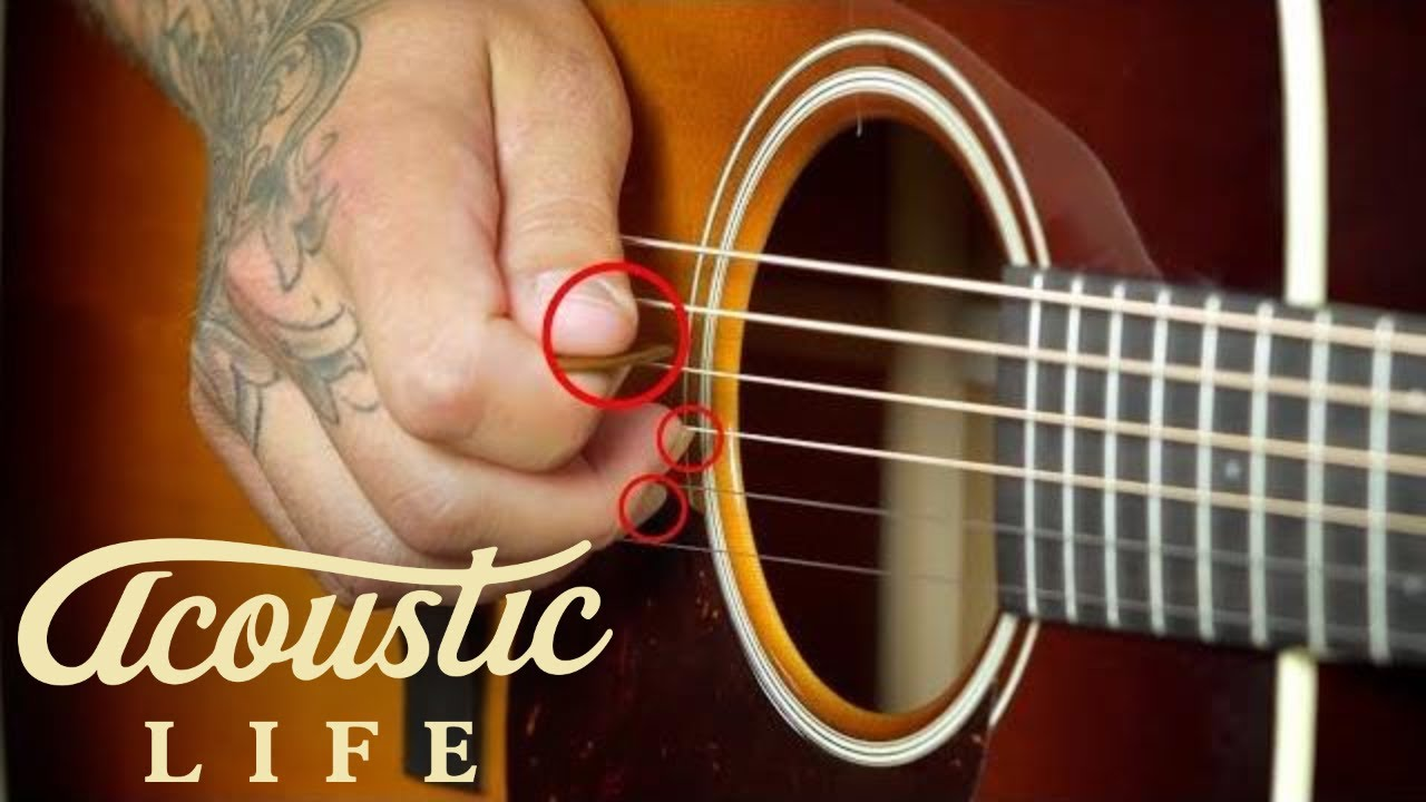 Try Chicken Pickin on Acoustic Guitar [2 EASY Exercises]