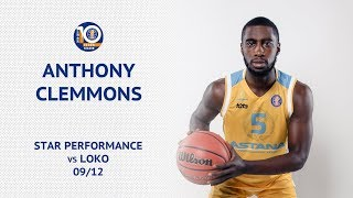 Star performance — Anthony Clemmons vs «Lokomotiv Kuban»