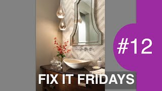 Bathroom Decorating Ideas | Interior Design | Fix it Fridays #12