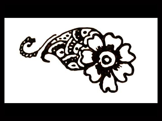 Mehndi Design Tutorial Download : Latest easy simple mehendi henna design tutorial flower