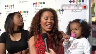 <b>Melanie Brown</b> Aka Mel B And Family Arrive At Sugar Factory Hollywood Grand Opening