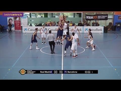 U14M - REAL MADRID Vs FC BARCELONA. Final Torneo INFANTIL Global Basket (Directo X BasketCantera.TV)