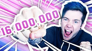 ► 16 Mil Tweet :: https://twitter.com/dantdm/status/895263752765001729► Subscribe and join TeamTDM! :: http://bit.ly/TxtGm8► Follow Me on Twitter :: http://www.twitter.com/DanTDM16 million TeamTDM members?! That's insane.. Let's hang..► BRAND NEW MERCHANDISE :: http://www.dantdmshop.com► Powered by Chillblast :: http://www.chillblast.com-- Find Me! --Twitter: http://www.twitter.com/DanTDMFacebook: http://www.facebook.com/TheDiamondMinecartInstagram: http://www.instagram.com/DanTDM