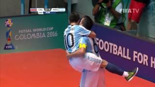 Video Match 33: Costa Rica v Argentina - FIFA Futsal World Cup 2016 MP3, 3GP, MP4, WEBM, AVI, FLV Juli 2018