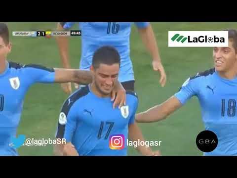Уругвай U20 - Ecuador U20 3:1. Видеообзор матча 21.01.2019. Видео голов и опасных моментов игры
