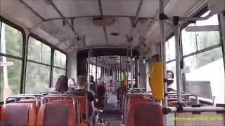 LAPSE SHOT #016 - jízda trolejbusem Škoda 15Tr v Ústí nad Labem