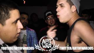 Art Of War 305 | Knowledge Medina vs. Krass Da Kid