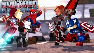 Video Minecraft Adventure - CAPTAIN AMERICA : CIVIL WAR! EPISODE 3 download in MP3, 3GP, MP4, WEBM, AVI, FLV January 2017