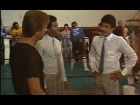 Début d'acteur d'Alexis Arguello dans Miami Vice