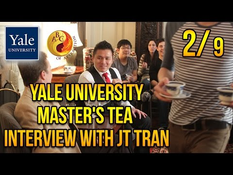 "Jerry ""JT"" Tran at Yale University about Asian American Dating (Part 2)"