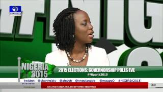 2015 Elections: Eyes On Governorship Polls Across Nigeria PT12